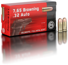 GECO 7,65 Browning/.32 AUTO FMJ 4,75g