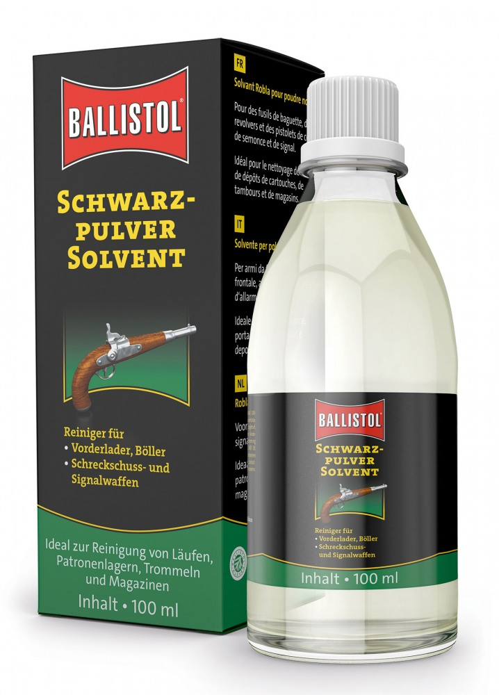 Ballistol Robla Black Powder Solvent Solvent 100ml