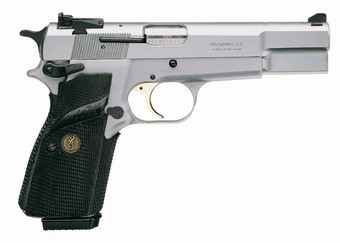 Pistole Browning HP SILVER CHROME