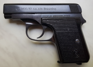 Pistole CZ 92 6,35 Browning